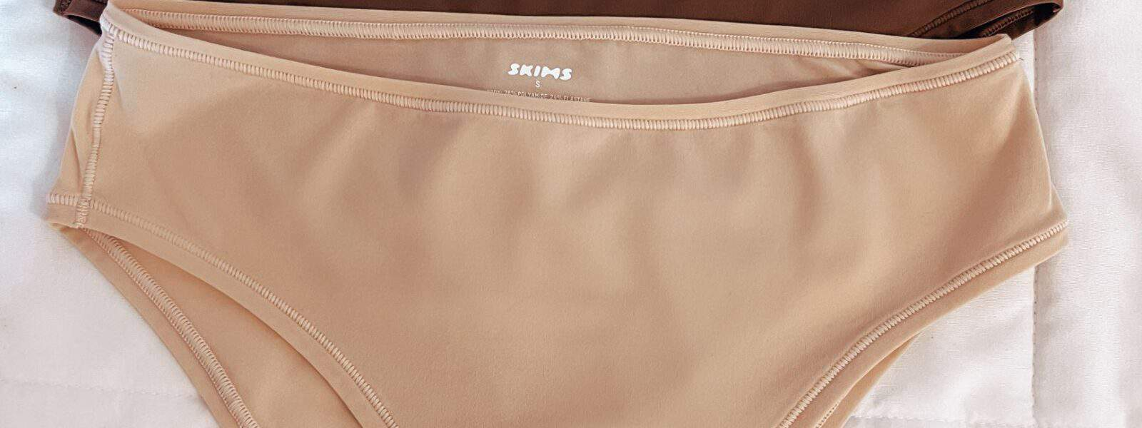 I tried SKIMS underwear for the first time, and this is what I have to say…