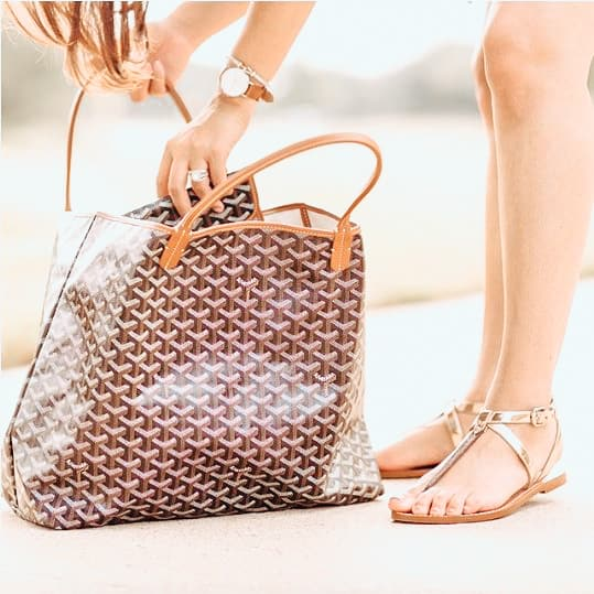 Are Goyard St. Louis bags about to become the new Louis Vuitton Neverfull?